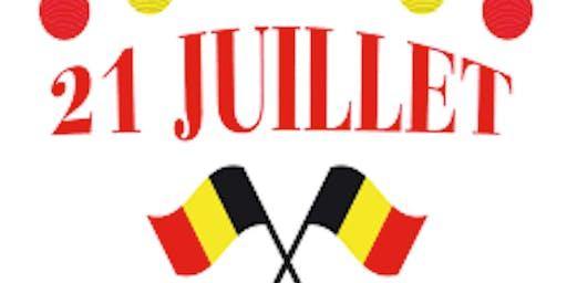 Brunch du 21 juillet pour la Fête nationale belge!