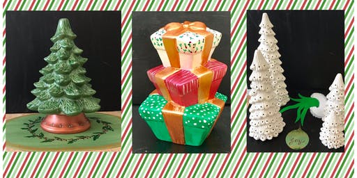 """Christmas in July (6yrs+) """"Paint & Go Christmas"""""""