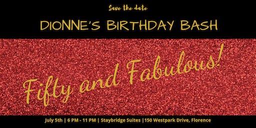 Dionne's 50 & Fabulous Bash