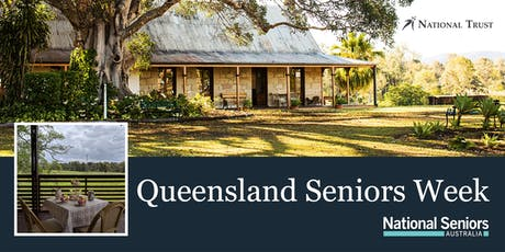 National Seniors Devonshire Tea at Wolston House tickets