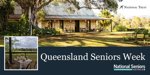 National Seniors Devonshire Tea at Wolston House