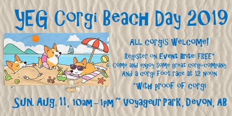 Corgi Beach Day tickets