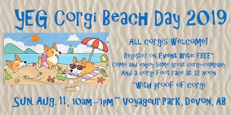 Corgi Beach Day tickets