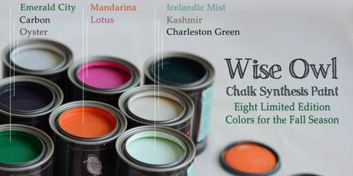 Furniture Painting Workshop 101- Paint your own piece.