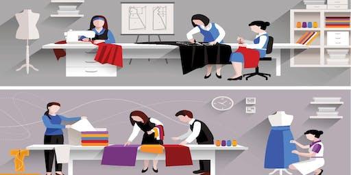 Free Workshop on cutting   drafting  Sewing