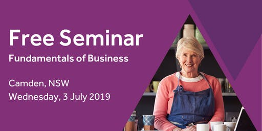 Free Seminar: Business Basics 101 – Camden, 3rd July