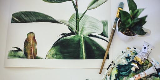 Introduction to Botanical Art with Josie Alcorn at the Reno Home Show