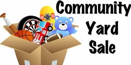 MULTI-FAMILY YARD SALE - July 27th - Morning of the Car Show - From 9-1 PM tickets