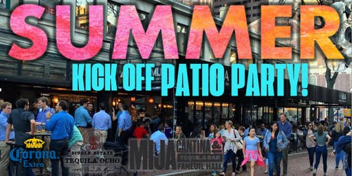 Summer Kick Off Patio Party!