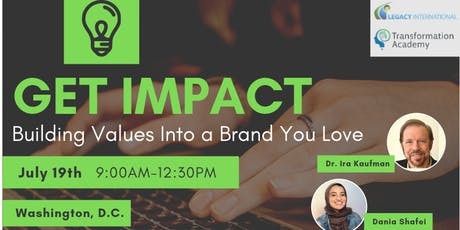 Get Impact: Building Values Into a Brand You Love tickets