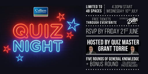 Colliers Quiz Night