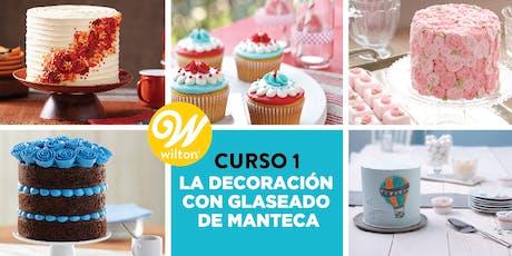 Método WILTON de Decoración de Tortas - CURSO 1: La Decoración con Glaseado de Manteca entradas