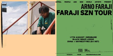 Arno Faraji  Single Tour 2019 tickets
