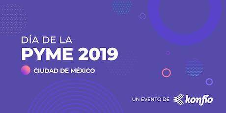 Día de la Pyme 2019 - CDMX entradas