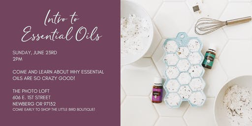 Intro to Essential Oils!