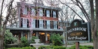 Faunbrook Bed and Breakfast Harvest Dinner with Wi