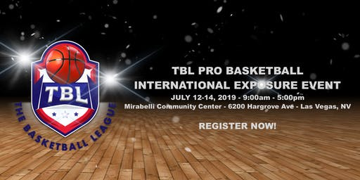 TBL PRO BASKETBALL INTERNATIONAL EXPOSURE EVENT