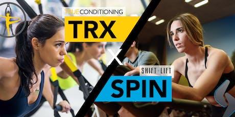 TRX x SPIN  tickets