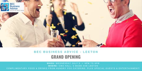 BEC Grand Opening in Leeton  tickets