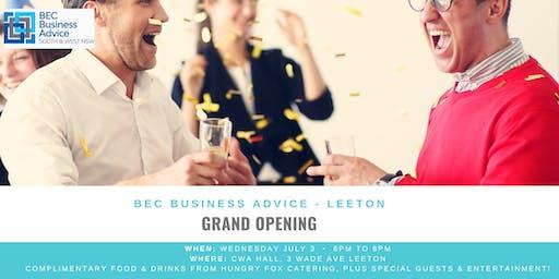 BEC Grand Opening in Leeton