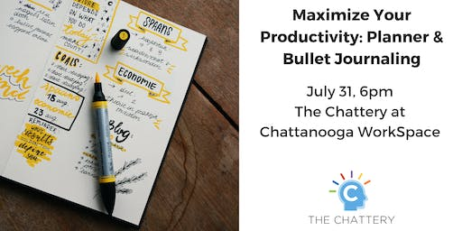 Maximize Your Productivity: Planner & Bullet Journaling