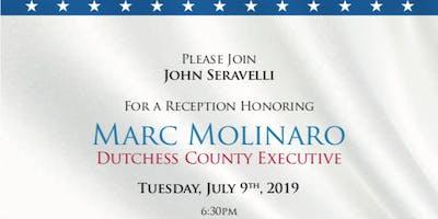 Reception Honoring Dutchess County Executive Marc Molinaro