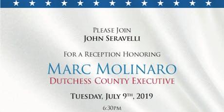 Reception Honoring Dutchess County Executive Marc Molinaro tickets