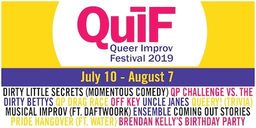 Queer Improv Festival 2019 FULL Lineup
