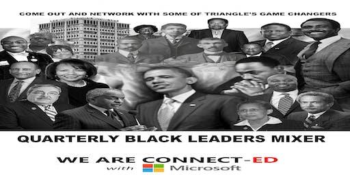 Quarterly Black Leaders Mixer