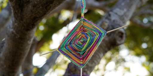 Weaving Craft at Forestville Library