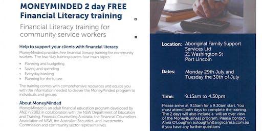 MONEYMINDED FACILITATOR TRAINING Port Lincoln