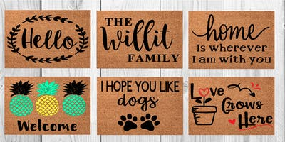 Crooked Eye Brewery Doormat Workshop