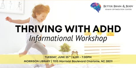 Thriving with ADHD - FREE Informational Workshop tickets