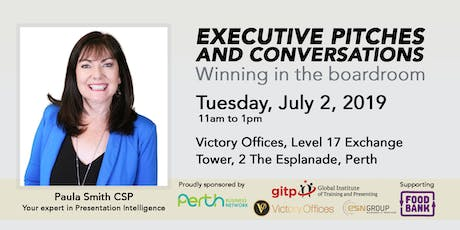Executive Pitches & Conversations - Winning in the Boardroom tickets