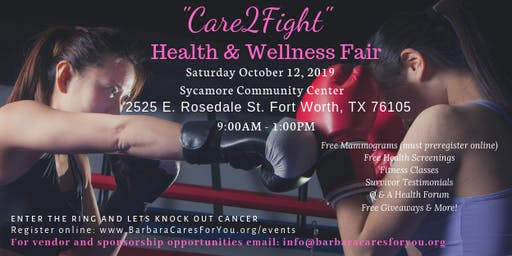"2019 ""Care2Fight"" Health & Wellness Fair"