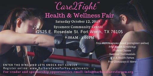 """2019 """"Care2Fight"""" Health & Wellness Fair"""