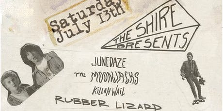 Fundraiser w/ The Moonjacks, Junedaze, Rubber Lizard, Killah Wail tickets