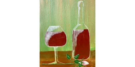 """Adult Open Paint (18yrs+) """"Rose' & Rose"""" tickets"""
