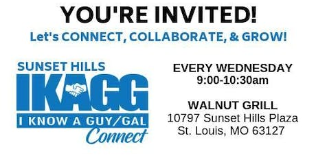 IKAGG - (I Know a Guy/Gal) Connect // Sunset Hills - Extended Networking tickets