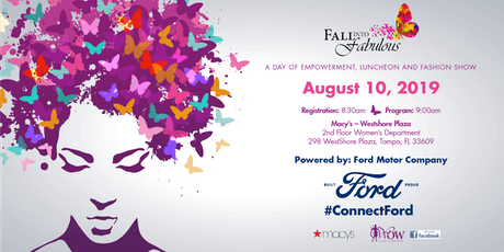Fall into Fabulous-Day of Empowerment, Luncheon & Fashion Show tickets