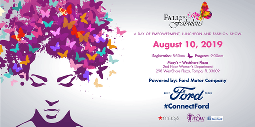 Fall into Fabulous-Day of Empowerment, Luncheon & Fashion Show