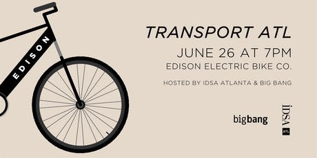 TransportATL: The Electric Bicycle tickets