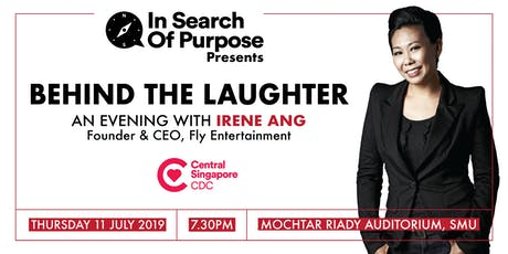 In Search of Purpose #24 - Behind the Laughter: An Evening with Irene Ang tickets