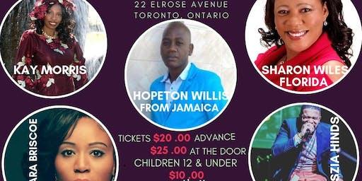 BEDS FOR JAMAICA BENEFIT CONCERT 2019