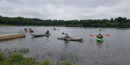 VA Hospital Mid-Week - Rosedale Lake - Kayak - July 31 2019