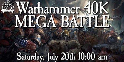Warhammer 40K Mega Battle