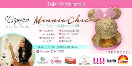 Taller con Florencia MENESCALDI: MINNIE CHIC entradas