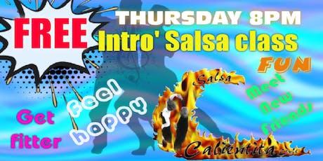 FREE Salsa Intro class tickets