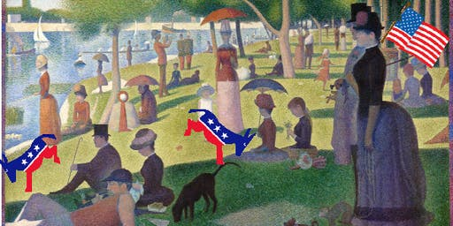 Sunday in the park with Democrats