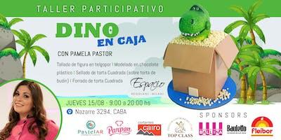 Taller con PAMELA PASTOR: TORTA DINO EN CAJA
